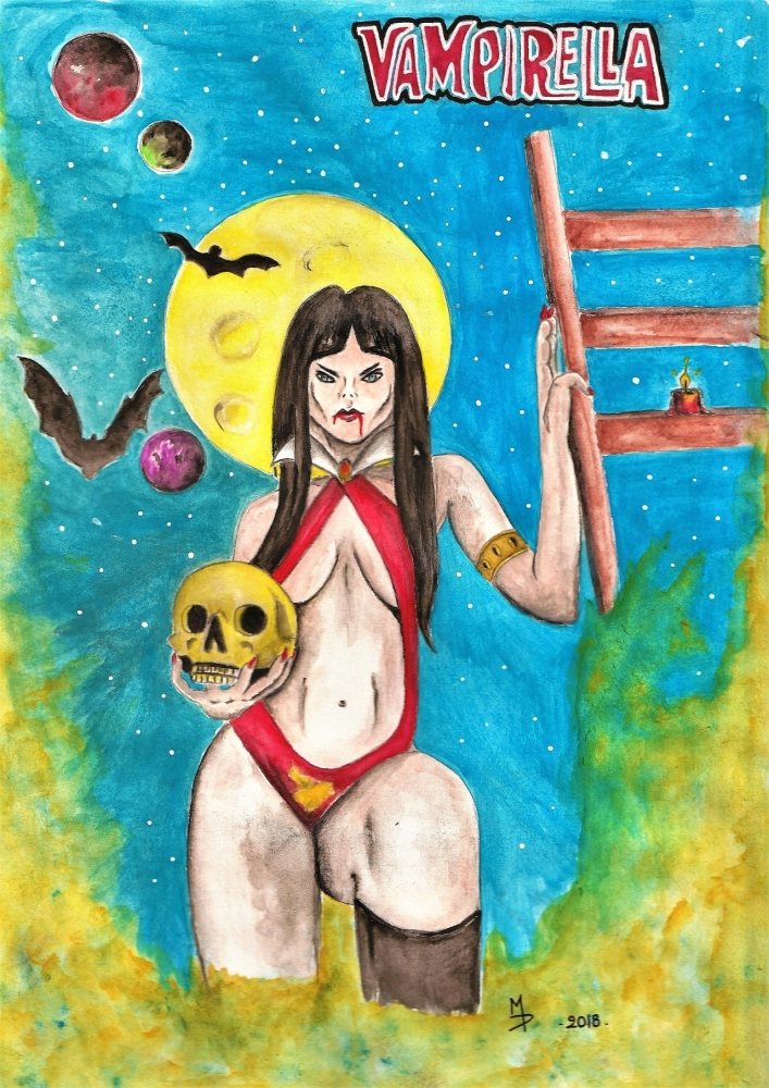 Vampirella by Martine76